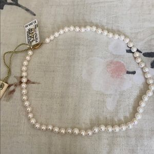 BRAND NEW PEARL NECKLACE ORIGINALLY $1k